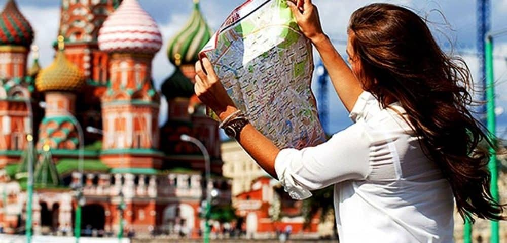 tourist in Mosco - Your Rus