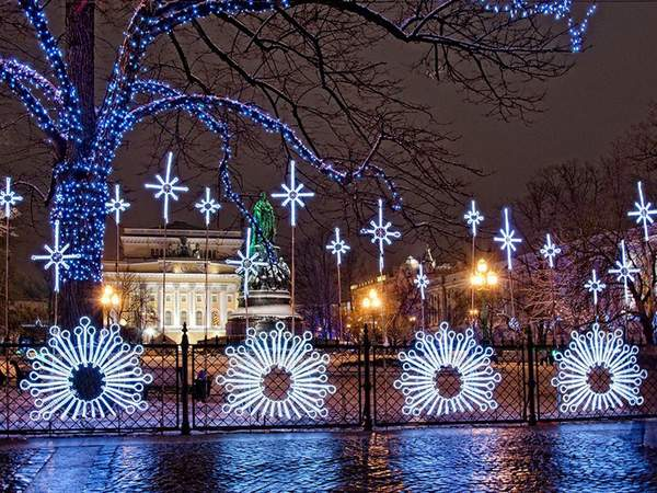 new year Saint Petersburg