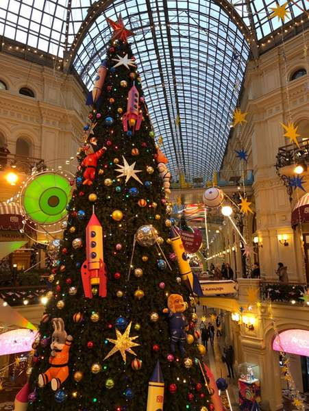Christmas tree - Moscow