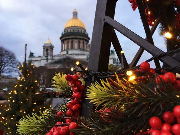 Christmas - St. Petersburg