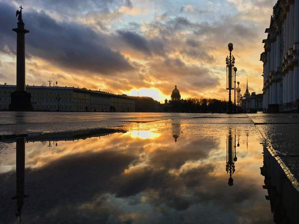 Sunset - St. Petersburg