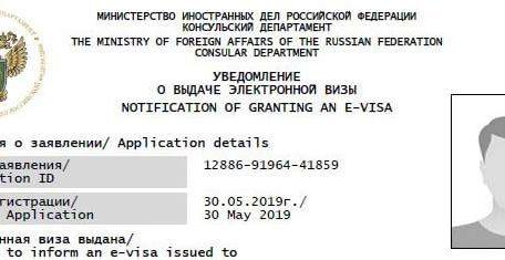 russian electronic visas