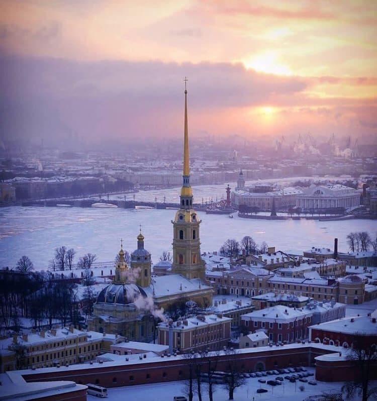 عندما يتجمد كل شيء في سانت بطرسبرغ