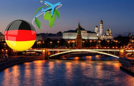 From Germany Russia resume flights and Visas