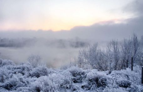 The land of Siberia special climate and wild nature