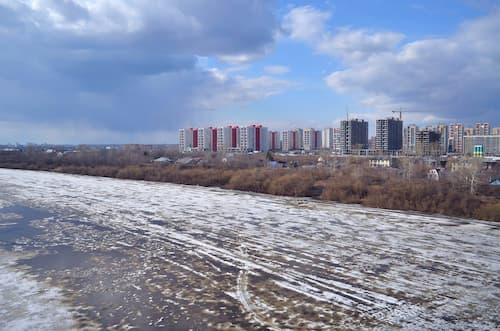 The promising City of Tyumen